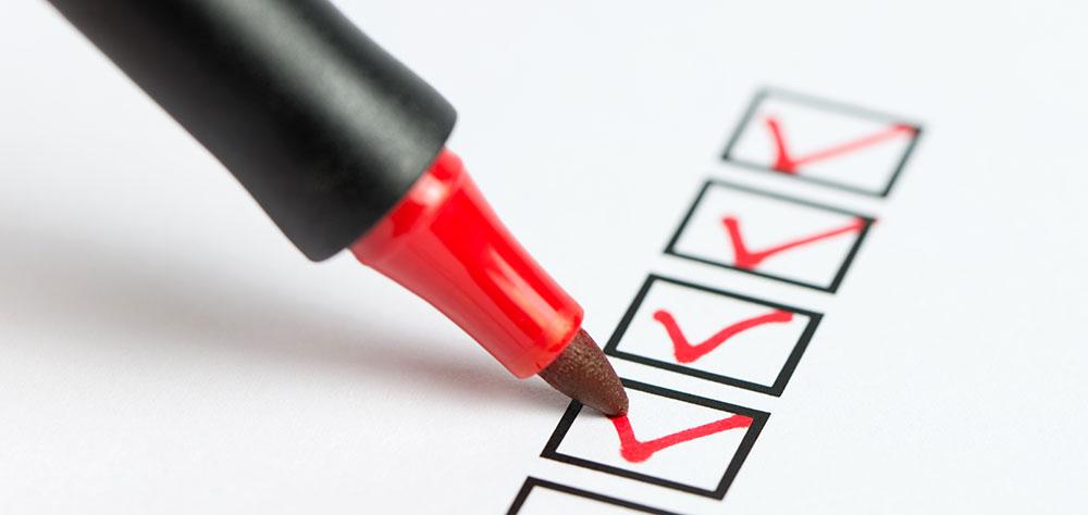 Checklist Individuals